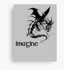 imagine dragon Canvas Print