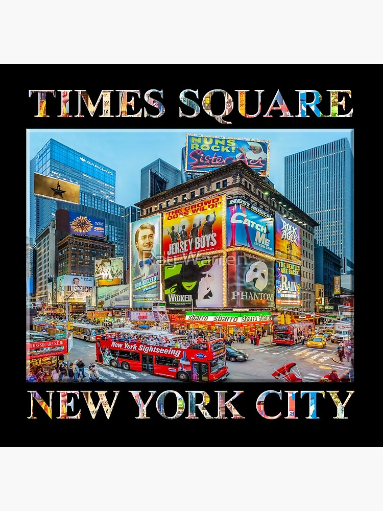 Times Square III Special Finale Edition (with type on black) by RayW