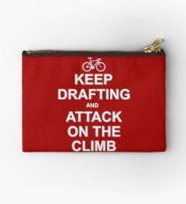 Keep Drafting And Attack On The Climb Studio Pouch