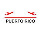 Puerto Rico Airport Plane Light-Color by TinyStarAmerica