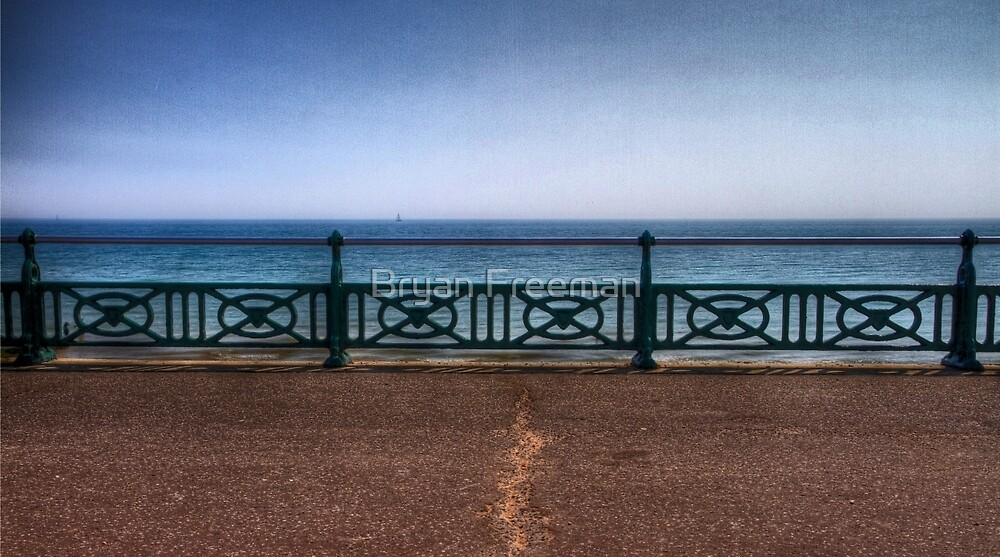 Brighton Sea Front - England by Bryan Freeman