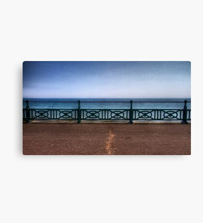 Brighton Sea Front - England Canvas Print