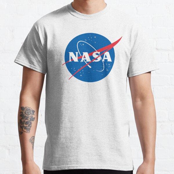 Nasa shirt Officially Licensed NASA Logo T shirt on white BG gift ideas Classic T-Shirt