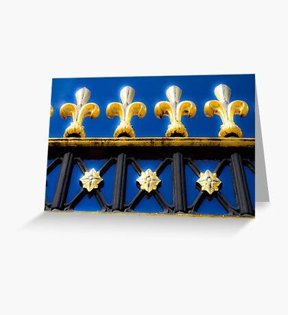 Golden Glow - Buckingham Palace - London Greeting Card