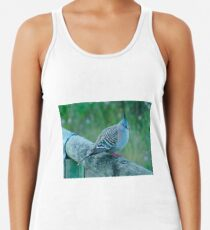 Crested Pigeon Women's Tank Top