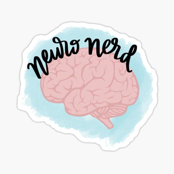 Neuro Nerd Sticker