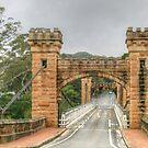 Hampden Bridge in the Kangaroo Valley .. HDR by Michael Matthews