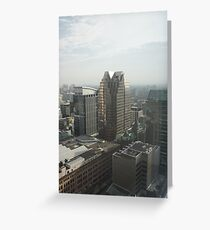 Looking South East Greeting Card