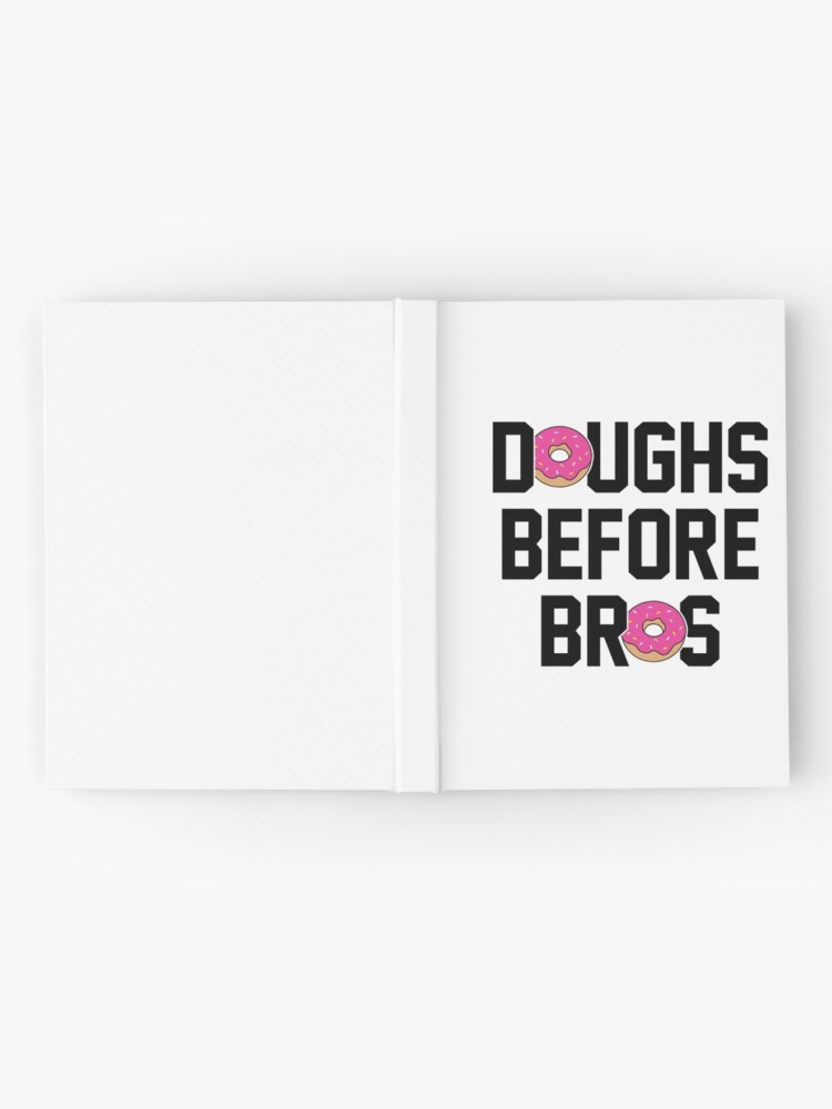 Alternate view of Doughs before bros Hardcover Journal