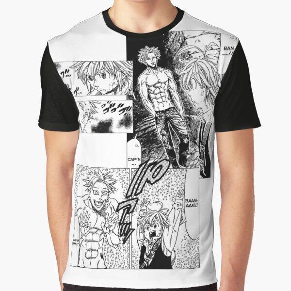 Ban and Meliodas Meet - Manga Graphic T-Shirt