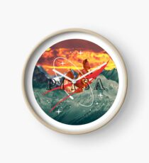 CERRO DE LA PIZZA Clock