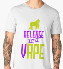 Release The Vape - Vape Vaping Gift Shirt Tee Men's Premium T-Shirt