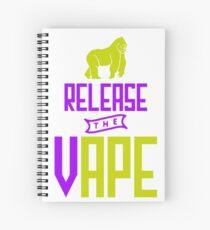 Release The Vape - Vape Vaping Gift Shirt Tee Spiral Notebook