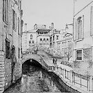 Venice in Black and White by Dai Wynn