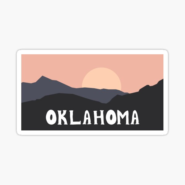 Oklahoma Outdoors Sticker