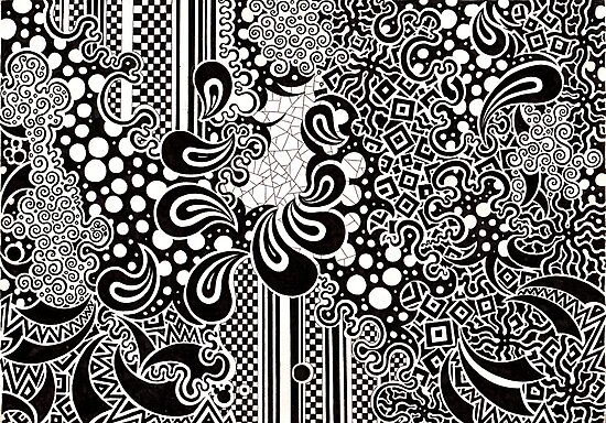 Black Paisley by nexus7