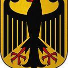 German national eagle by edsimoneit