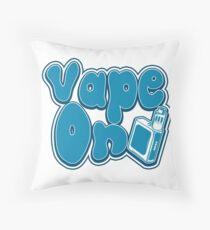 Vape On - Vape Vaping Gift Shirt Tee Throw Pillow
