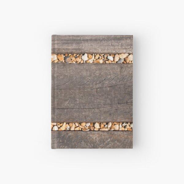 Planks & Pebbles Hardcover Journal