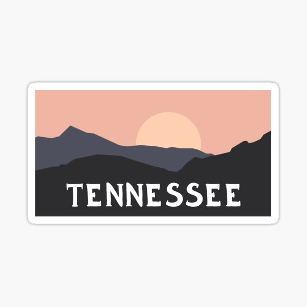 Tennessee Outdoors Sticker