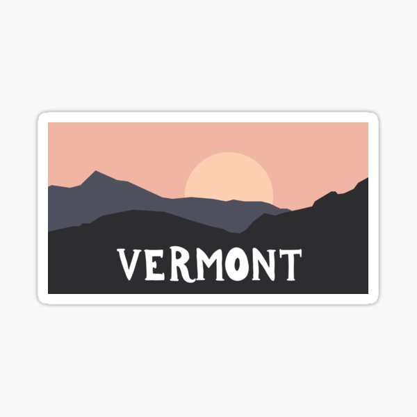 Vermont Outdoors Sticker