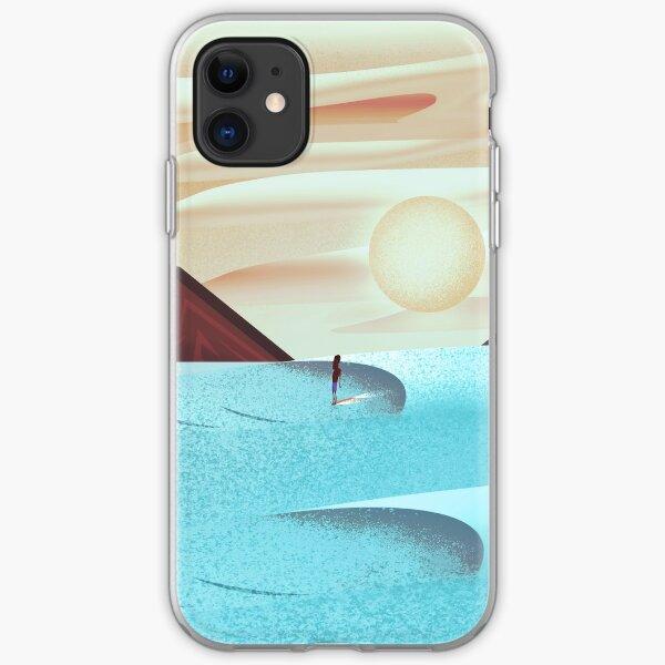 Sunset Surfer iPhone Soft Case