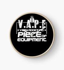 V.A.P.E Very Addicting Piece of Equipment - Vape Gift Shirt Clock