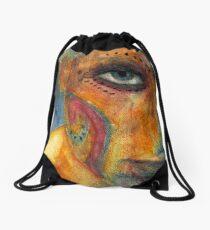 """Angry"" Drawstring Bag"
