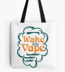 Wake And Vape - Vape Vaping Gift Shirt Tee Tote Bag