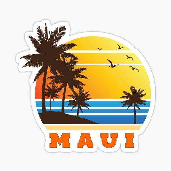 Maui Sticker