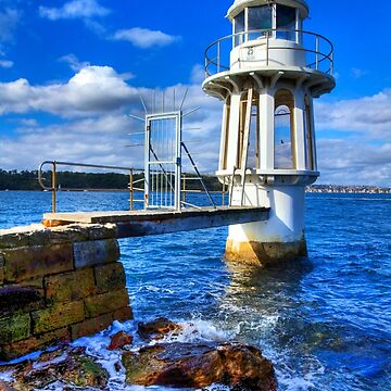 Robertson's Point Lighthouse - Sydney - Australia by BryanFreeman