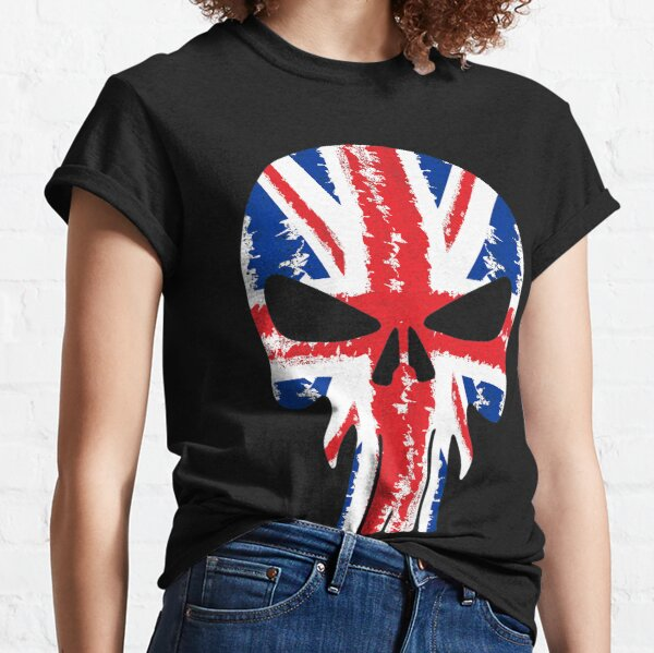British UK Skulls Classic T-Shirt