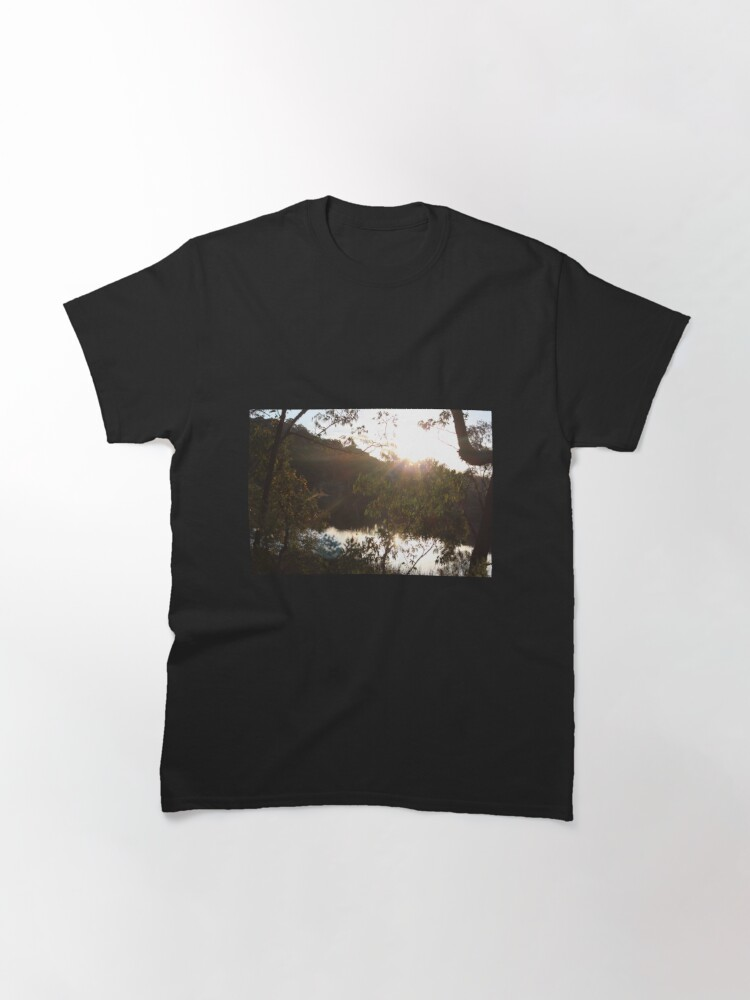 Alternate view of Sunset at Dunn's Swamp Classic T-Shirt