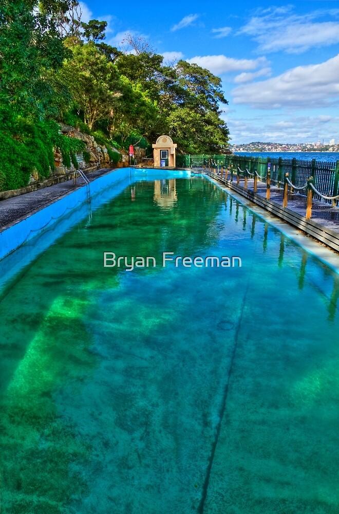 MacCallum Pool - Cremorne Point - Sydney - Australia by Bryan Freeman