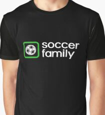 Soccer Family Graphic T-Shirt