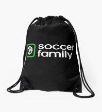 Soccer Family Drawstring Bag