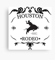Houston Livestock Show Rodeo Canvas Print