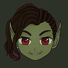 For Azeroth: Orc Female by DreadfulSanity