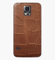 burberry brown alligator bowling bag Case/Skin for Samsung Galaxy