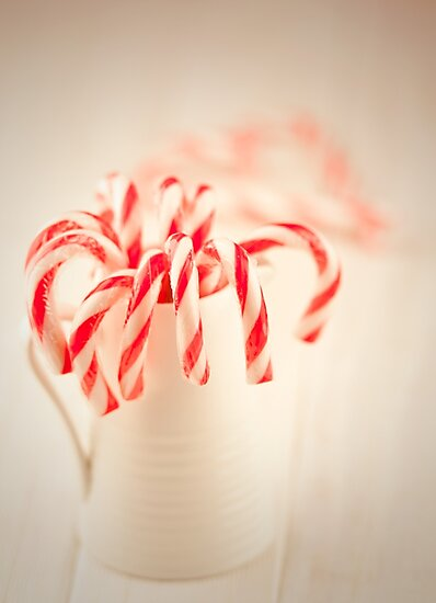 Christmas red and white by Amanda-Jane Snelling