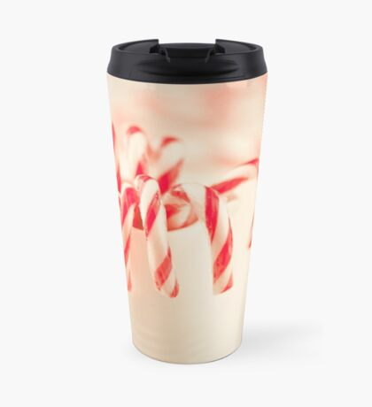 Christmas red and white Travel Mug