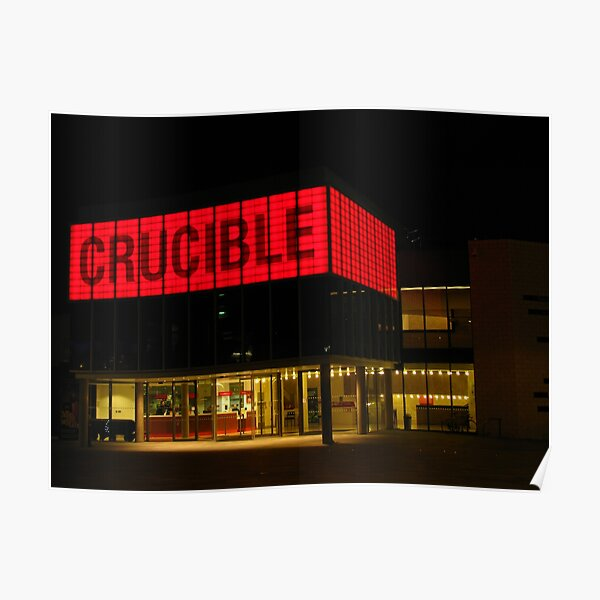 The Crucible, Sheffield Poster
