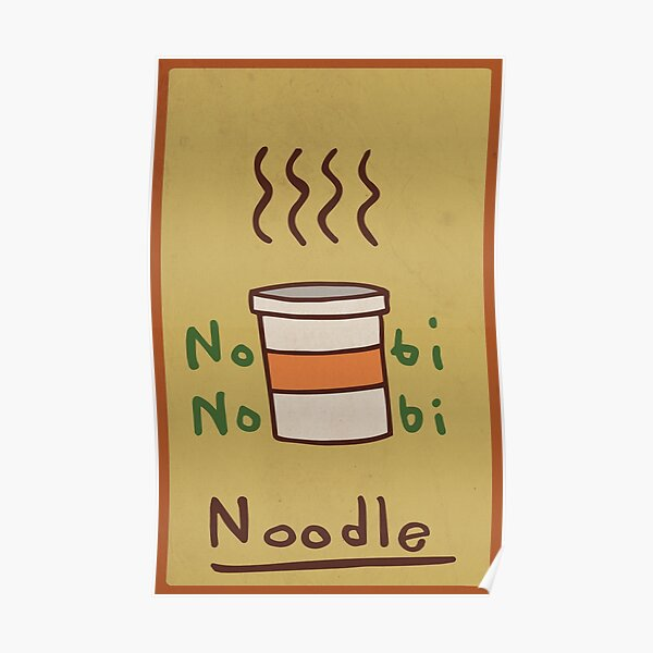 Nobi Noodle Poster