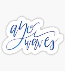 AYO WAVES Sticker