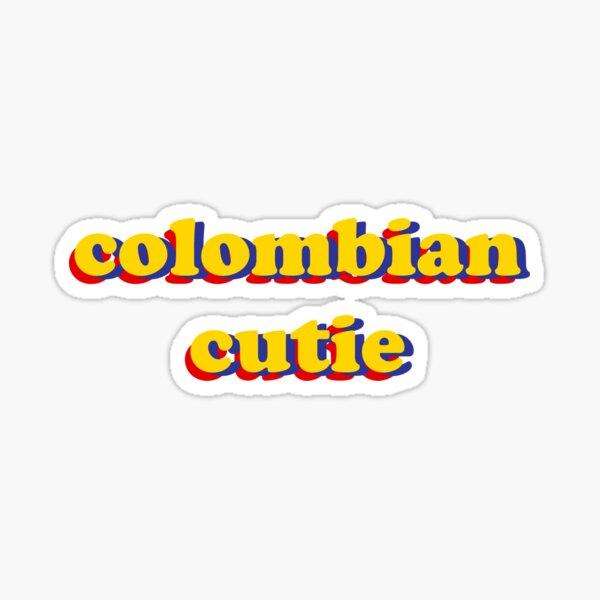 colombian cutie <3 Sticker