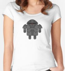 DroidArmy: Cylon Women's Fitted Scoop T-Shirt
