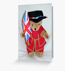 Jubilee Beefeater Greeting Card