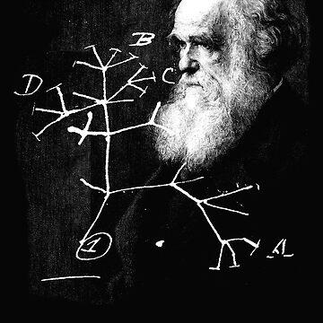 Darwin tree of life evolution science shirt Biology Nerdy by bledi