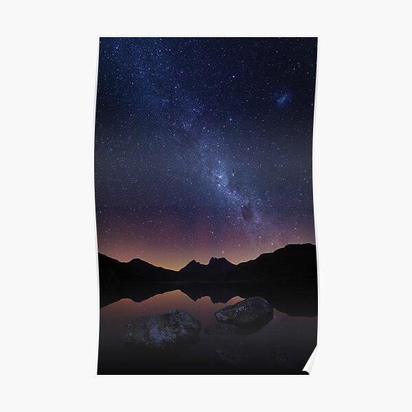 Cradle Aurora - Cradle Mountain Tasmania Poster