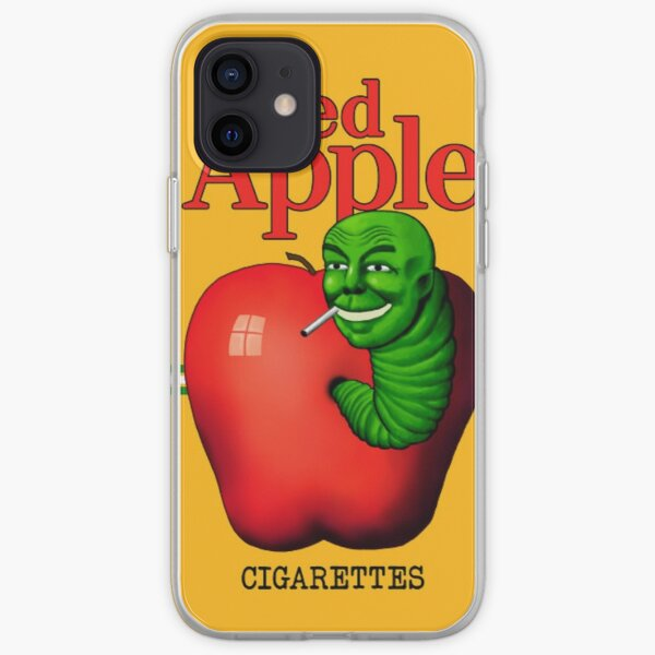 Red Apple Cigarettes iPhone Soft Case